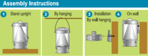 Mini Monster pułapka no owady 2