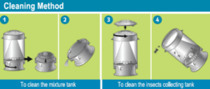 Mini Monster pułapka no owady 3